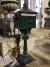 Post Mounted Post Box - Green