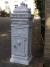 Free Standing Post Box - White