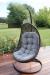 Malibu Hanging Swing Chair - Grey