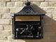 Wall Mounted Post Box - Black