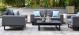 Outdoor fabric Ethos 2 Seat sofa set - Flanelle