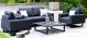 Outdoor fabric Ethos 2 Seat sofa set - Charcoal