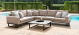 Outdoor fabric Ethos Large Corner Group - Taupe