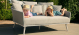 Outdoor fabric Ark Daybed - Lead Chine