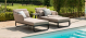 Outdoor fabric Unity Sunlounger - Taupe Due 28/8/21