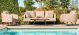 Outdoor fabric Ambition 3 Seat sofa Set - Taupe