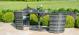 Balcony Bistro Set- Grey