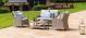 Oxford Heritage Square Sofa Set