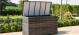 Flat Weave Storage Box - Grey