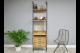 ladder style shelves unit