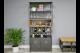 Retro Industrial Wine Cabinet