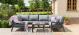 New York U-Shaped Corner Sofa set