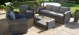 Victoria 3 Seat Sofa Set