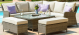 Winchester Royal Dining Set with Rising Table and Ice Bucket