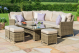 Winchester Corner Dining Set with Rising Table & Ice Bucket