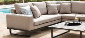 Outdoor fabric Ethos Corner Group - Taupe Due 23/8/21