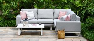 Outdoor fabric Ethos Corner Group - Lead Chine